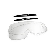 Oakley Replacement Lens XS O Frame MX (Clear) Roll-Off 2pk