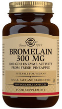 Contains Bromelain, a Natural Proteolytic Digestive Enzyme Derived from Pineapple