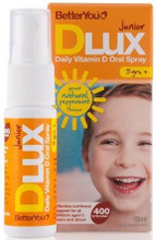 Contains 400iu of Vitamin D per Spray