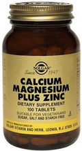 Contains a Synergistic Formulation of Minerals Calcium, Magnesium and Zinc