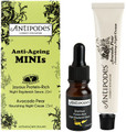 Contains  Duo of Antipodes Joyous Night Replenish 10ml and Antipodes Avocado Pear Night Cream 15ml