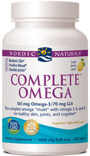 Provides EPA and DHA from Coldwater Fish with GLA from Borage Oil and Omega-9, Providing a Healthy Balance of Omega's 3, 6 and 9.