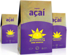 Contains 100% freeze-dried organic Açaí berries (crushed up berries)