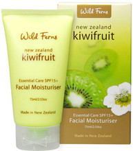 Combines Antioxidant Rich New Zealand Kiwifruit Seed Oil with SPF15+ for Daily Replenishment and Protection