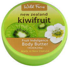 Contains a Blend of New Zealand Kiwifruit Oil, Shea Butter, Jojoba and Sweet Almond Oil