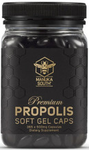 Provides 500mg of Propolis per Softgel in an Easy to Swallow Form