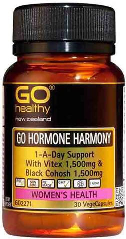 Go Healthy GO Hormone Harmony with Vitex and Black Cohosh VegeCaps 30