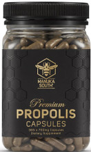 Premium Propolis Capsules with a Guaranteed High Flavonoid Content of 40mg per every 2 Capsules
