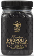 High Strength Premium Bee Propolis Softgel Supplement Containing 2,000mg of Concentrated Bee Propolis per Softgel