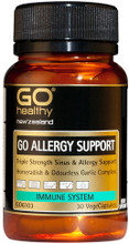Contains a Triple Strength Formula with Horseradish, Garlic and Fenugreek for Sinus and Allergy Support