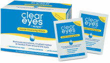 Hypoallergenic Eye Wipes, Enriched with Chamomile Extract and Free of Alcohol, Fragrances and Preservatives.