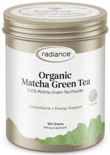 Contains 100% Matcha Green Tea Powder