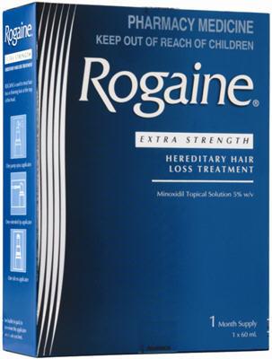 Rogaine Extra Strength Hereditary Hair Loss Treatment
