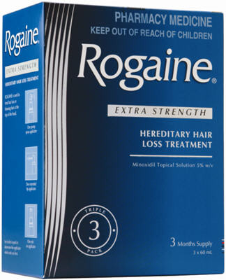 Rogaine Extra Strength Hereditary Hair Loss Treatment