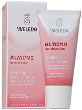 Mild and Soothing Face Cream with Almond Oil and Plum Kernel Oil for Soft and Supple Skin