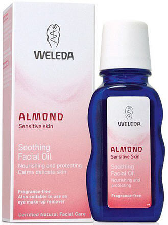 Almond Soothing Facial Oil Trophawomvitase
