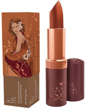 Luxurious Lipstick with a Warm Metallic Bronze Colour, Made with All Natural Ingredients