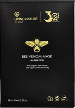 Contains active Bee venom with the natural botanicals of organic Manuka honey and certified organic Coconut oil