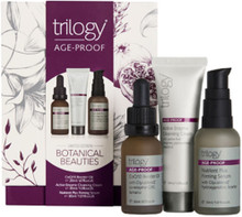 Each pack contains CoQ10 Booster Oil (20ml), Active Enzyme Cleansing Cream (30ml) ands Nutrient Plus Firming Serum (30ml)