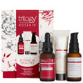 Each pack contains Trilogy Rosehip Oil Antioxidant+ (30ml), Trilogy Rosapene™ Radiance Serum (30ml) and Trilogy Cream Cleanser (30ml)
