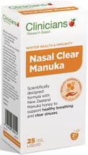 Contains New Zealand Manuka Honey and MSM to Support Healthy Breathing and Clear Sinuses