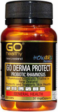 Contains Two Specific Probiotic Strains, HOWARU Rhamnosus® and Lactobacillus Rhamnosus to Support Skin Conditions and Flare-Ups