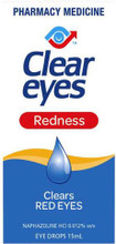 Contains Naphazoline Hydrochloride, a vasoconstricor to Remove Redness of the eyes