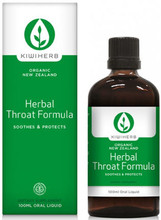 Contains a Unique Combination of Three Common Herbs, Thyme, Liquorice and Echinacea Root