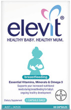 Scientifically Developed with Essential Vitamins, Minerals and Omega 3 that Support You and Your Baby's Needs During Breastfeeding