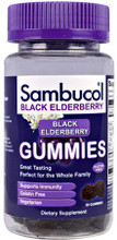 Contains Black Elderberry Extract with Vitamin C and Zinc to Support Immune System Health