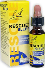 Contains the 5 Bach Flower Remedies in Rescue Remedy with added White Chestnut to help remove stress and repeated unwanted thoughts so that sleep comes naturally