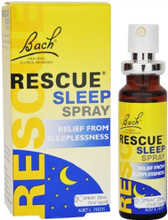 Contains the 5 Bach Flower Remedies in Rescue Remedy with added White Chestnut to help remove stress and repeated unwanted thoughts so that sleep comes naturally.