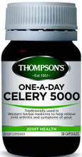 Provides Celery (Apium Graveolens) in a One-a-Day Therapeutic Dose of 5000mg, Traditionally Used for Healthy Joint Mobility and Function