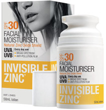 Contains micronised zinc oxide in a light and silky formulation which is easily absorbed to moisturise and provide high UVA & UVB protection.
