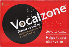 Formulated to Support Throat Health to Help Keep a Clear Voice