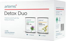 Contains Detox Tea and Kidney Cleanse Tea which Work Together to Support Our Detoxification Systems