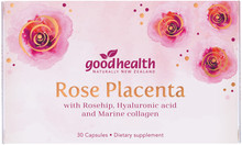 Contains Rose Placenta, Rosehip Oil, Marine Collagen, Vitamin C and New Zealand Grapeseed Extract to promote beautiful, youthful looking skin