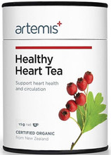 Contains Certified Organic Herbs Hawthorn, Motherwort, Lemon Balm, Passionflower and St. John's Wort to Support a Healthy Heart