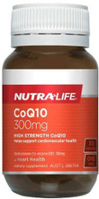 Each capsule provides a high strength, daily dose of 300mg Co-enzyme Q10.