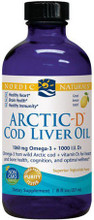 Contains Omega-3 from Wild Arctic Cod plus Vitamin D for Heart and Bone Health, Cognition and Optimal Wellness