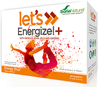 Energy Shot with Propolis, Royal Jelly & Ginseng