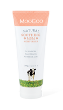 Made with natural edible oils, using the moisturising base of MooGoo's Full Cream moisturiserm with the addition 10% MSM to help soothe irritable skin, for adults and children