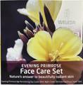 Contains Evening Primrose Revitalising Day Cream 30ml, Evening Primrose Revitalising Night Cream 30ml, and Evening Primrose Eye and Lip Cream 10ml