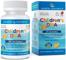 Contains DHA Omega-3 Sourced from 100% Wild Arctic Cod for Healthy Brain Development and Immune System Function