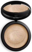 Champagne shimmer designed for medium skin tones, with key ingredients Certified Organic Coconut Oil and Certified Organic Argan Oil