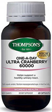 Provides a High potency Extract Equivalent to 60000mg of Fresh Cranberry Fruit to Help Support a Healthy Urinary Tract Naturally