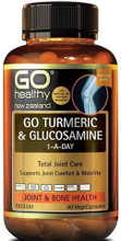 Contains High Strength Turmeric, Along with a 1,500mg Full Dose of Scientifically Proven Glucosamine Sulfate