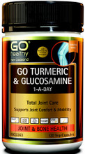 Contains High Strength Turmeric, along with a 1,500mg full dose of scientifically proven Glucosamine Sulfate for joint comfort and mobility