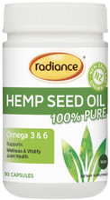100% Pure, New Zealand, Extra Virgin, Cold-Pressed Oil, Extracted Locally from Hemp Seeds and Grown and Produced in a GMO/GE Free Production Process