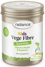 Each gummie contains 1.5g dietary fibre (Inulin) for digestive health and regularity